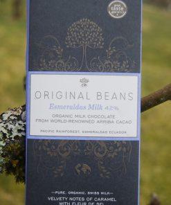 Original Beans Esmeraldas Milk, m Havssalt 42% Eko och Fair