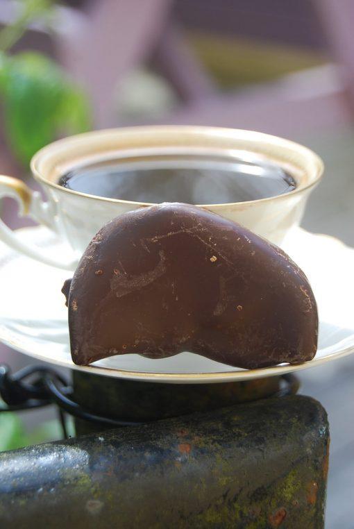 Caro Citronklyfta doppad i mörk Choklad