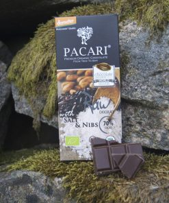Råchokladkaka bergsalt & råa kakaonibs