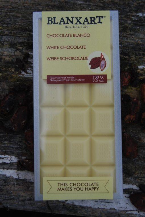 Vit chokladkaka,