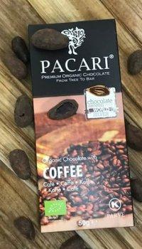 Mörk Chokladkaka med Kaffe