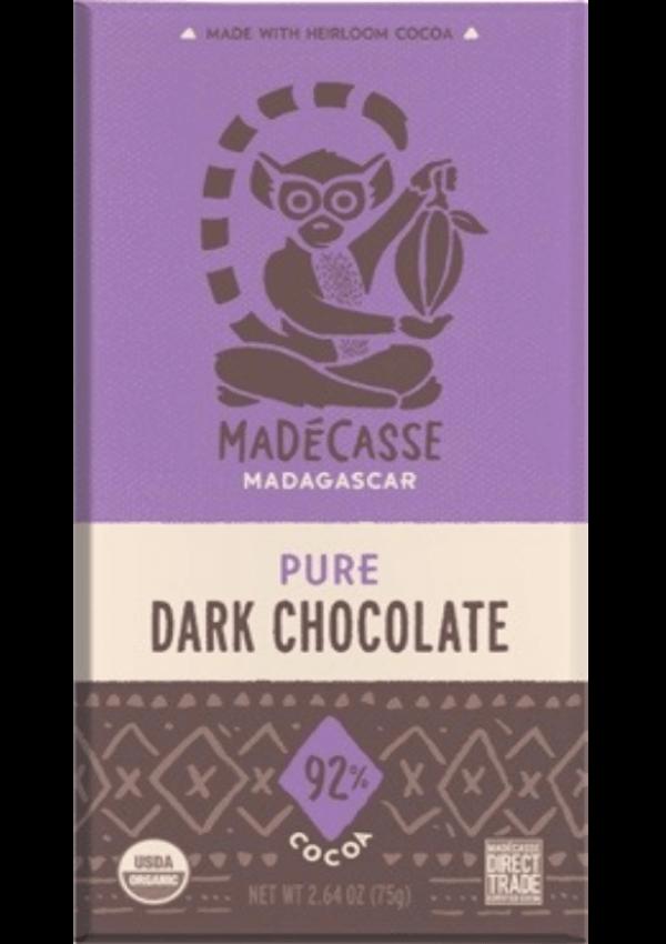 Mörk Chokladkaka 92%,
