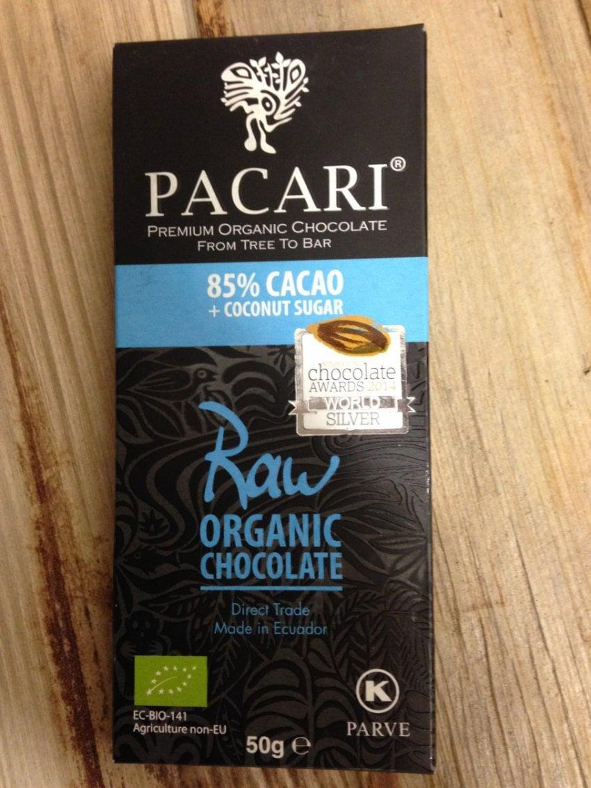 Råchokladkaka 85% kokossocker