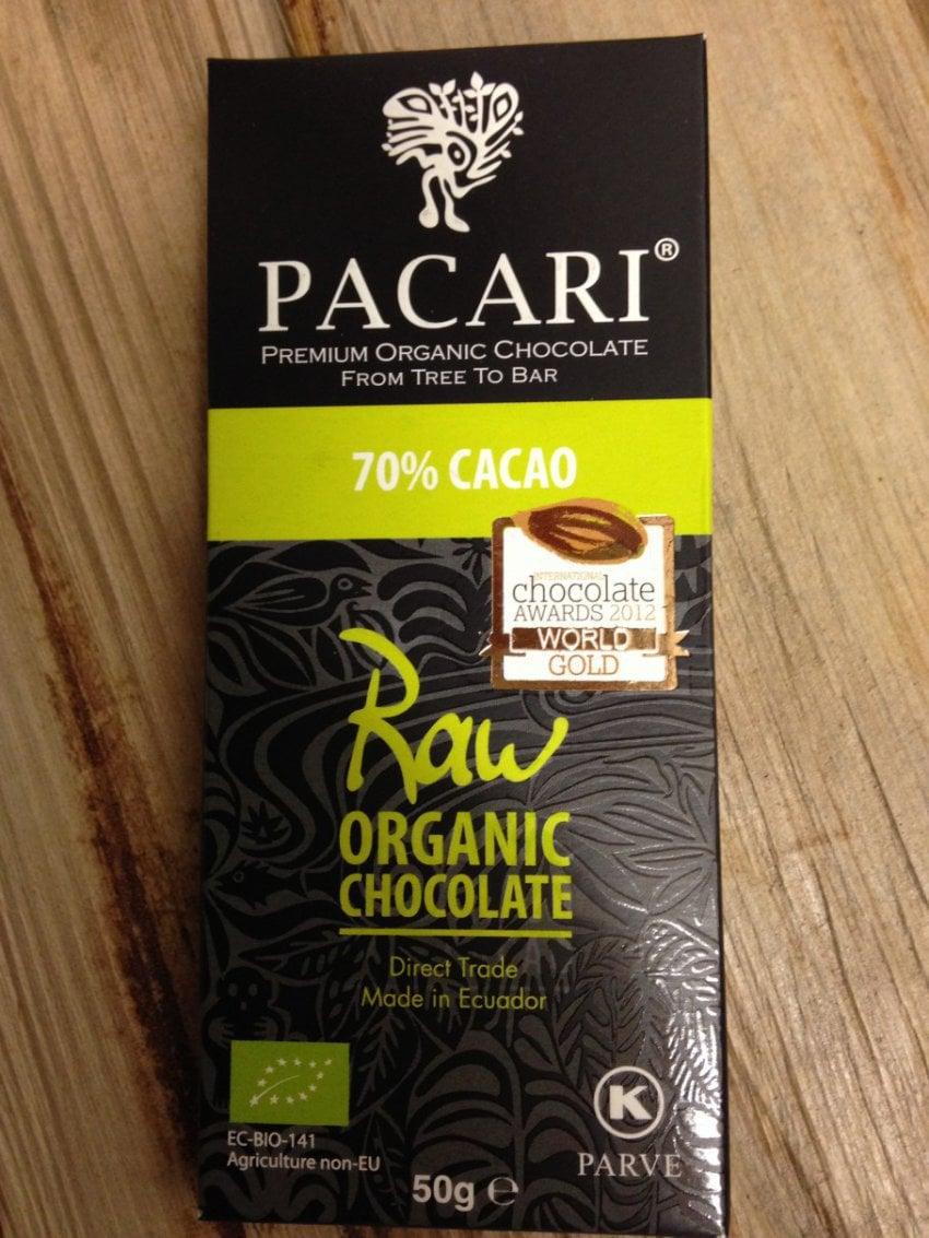 Råchokladkaka 70%