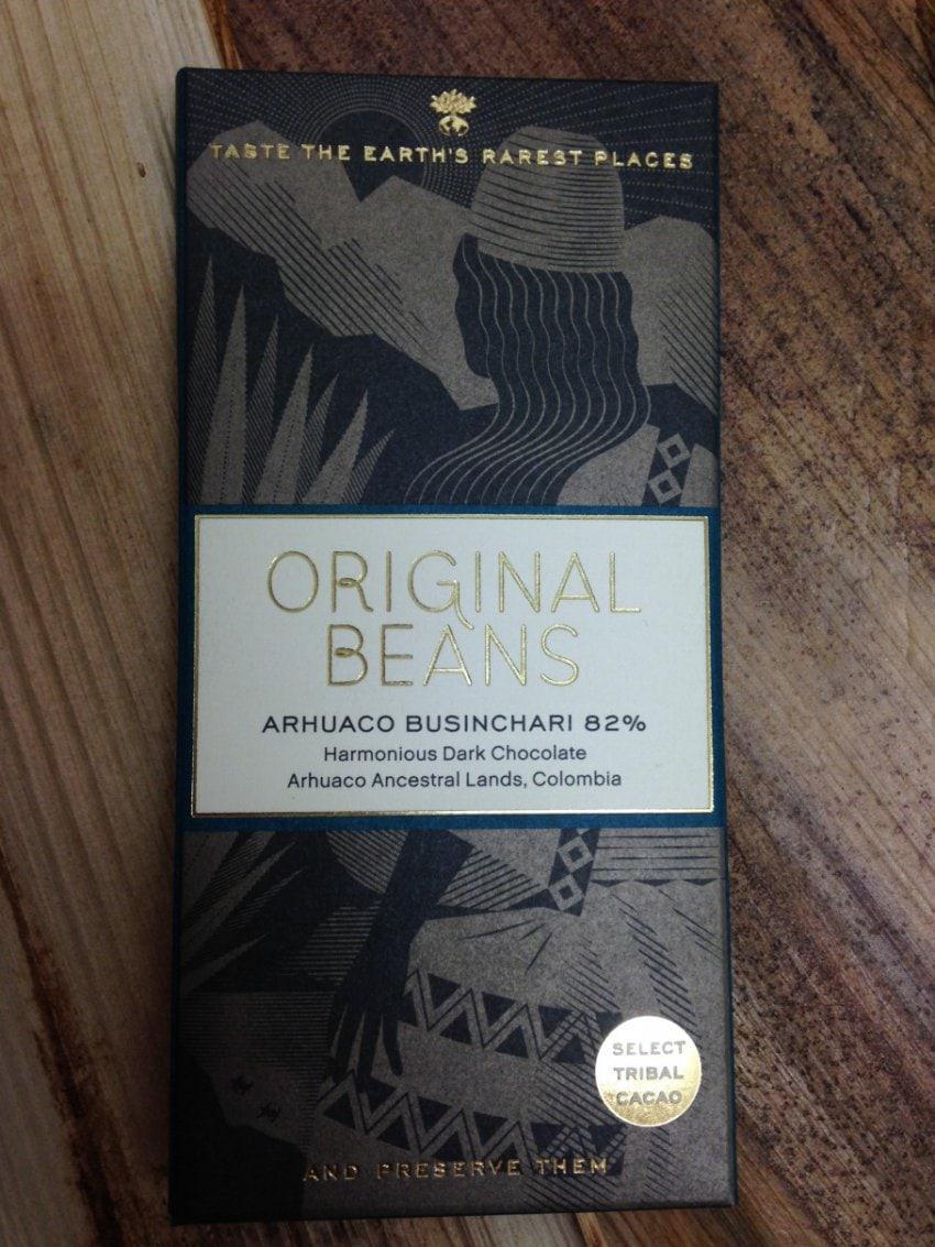 Original Beans Arhuaco Businchari 82%, 70g,