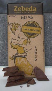 60% med kokosmjölk,