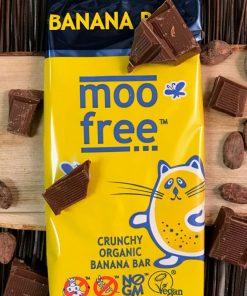 mjölkfri mjölkchokladkaka med bananchips