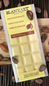 Blanxart Vit choklad, sockerfri 100g