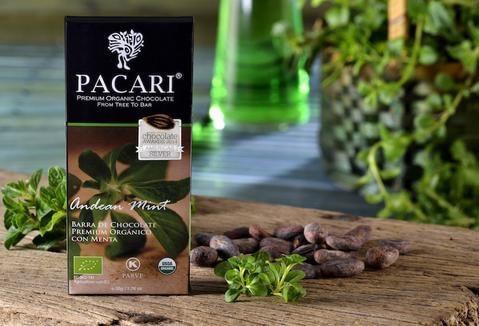 Pacari Chokladkaka Mint