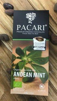 Mörk Chokladkaka med Mint