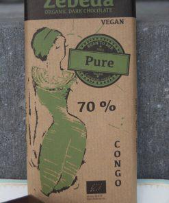 Zebeda Mörk Chokladkaka 70%,