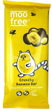 MooFree mjölkchokladkaka 41% med banan 100g.