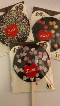 Klubba Mörk choklad topping
