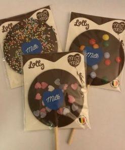 MoMe Klubba Mjölkchoklad topping