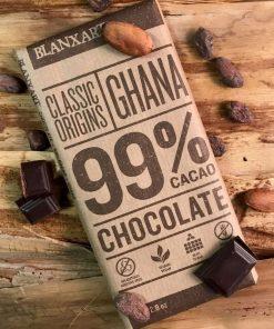 Mörk Chokladkaka Ghana 99%