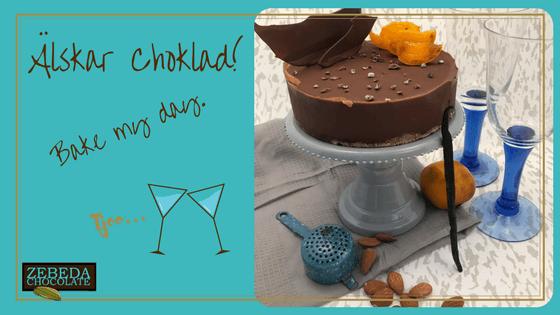 Zebeda Chocolate Tryffeltårta
