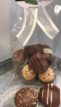 Praliner Mjölkchoklad, blandad påse