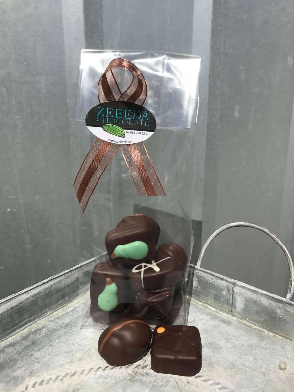 Praliner Mörk Choklad, blandad påse