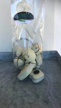 Praliner Vit choklad, blandad påse