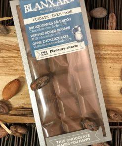 Mjölkchokladkaka sockerfri