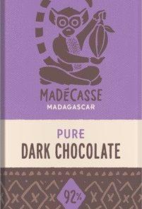 Mörk chokladkaka 92%