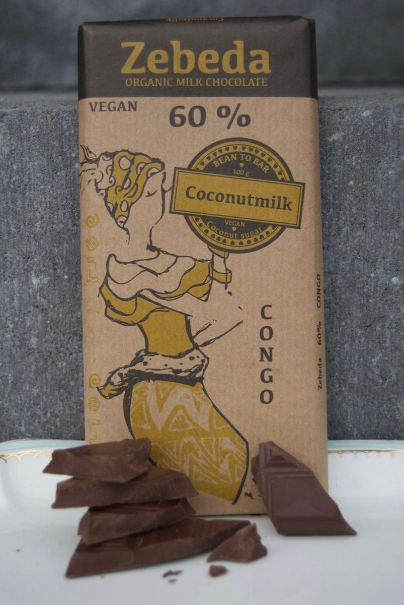 60% med kokosmjölk
