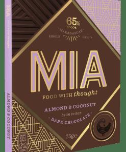 salta mandelflingor & Kokos