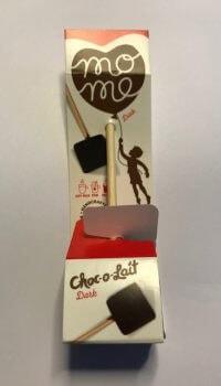 Drickchokladsticka mörk chokladtryffel