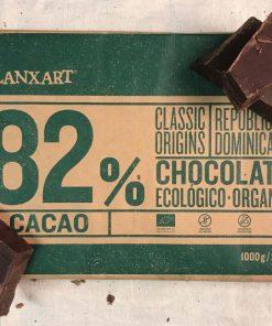 Blanxart Bakchoklad Mörk Dominikanska Rep 82%
