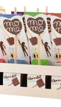 MoMe Drickchokladsticka Present 8 stickor