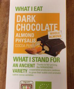 Ethiquable Mandel Physalis Mörk choklad