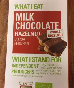 Ethiquable Mjölkchoklad med hasselnötter