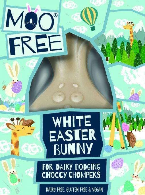 MooFree Påskhare vit choklad