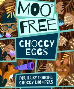 MooFree Påsk miniägg mjölkchoklad
