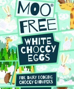 MooFree Påsk miniägg vit choklad