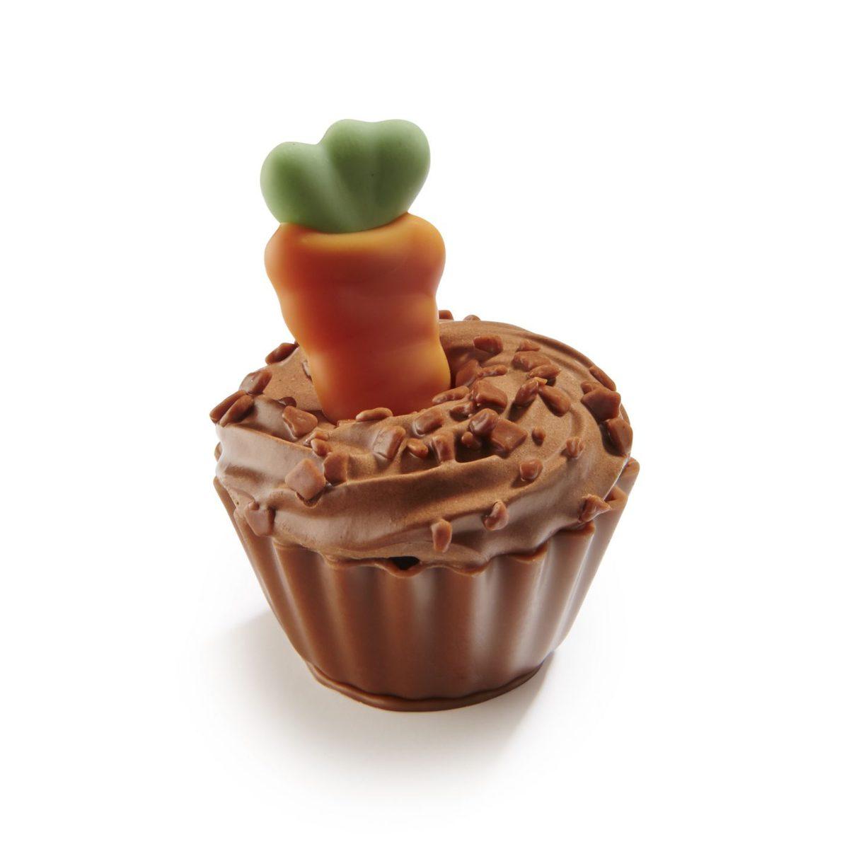Zebeda Pralin Påsk Cupcake Carrot