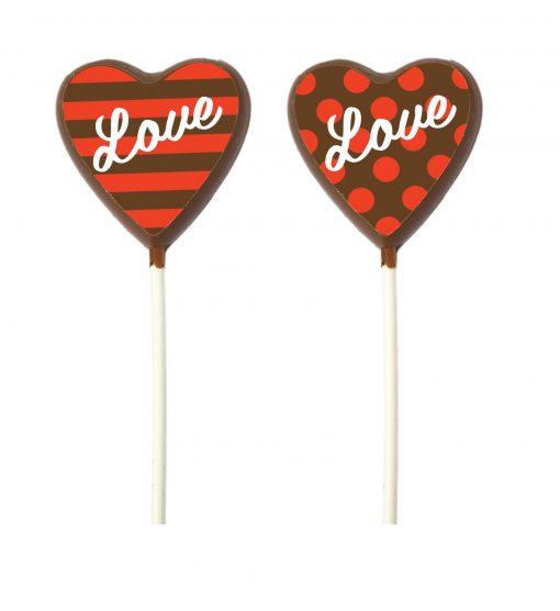 Zebeda Chokladklubba Mjölkchoklad Love