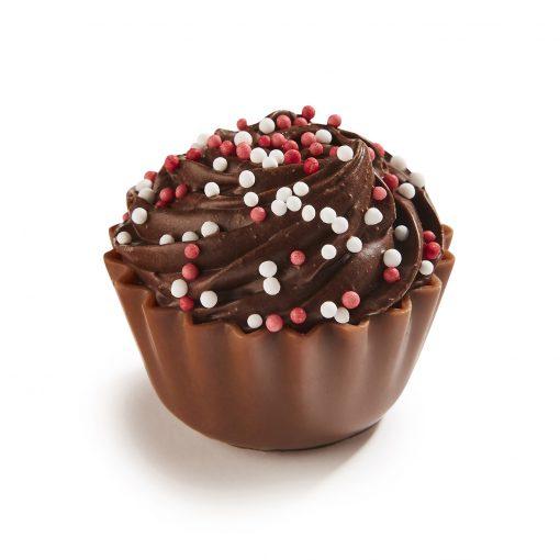 Zebeda Pralin Cupcake Mörk tryffel och colasurprise